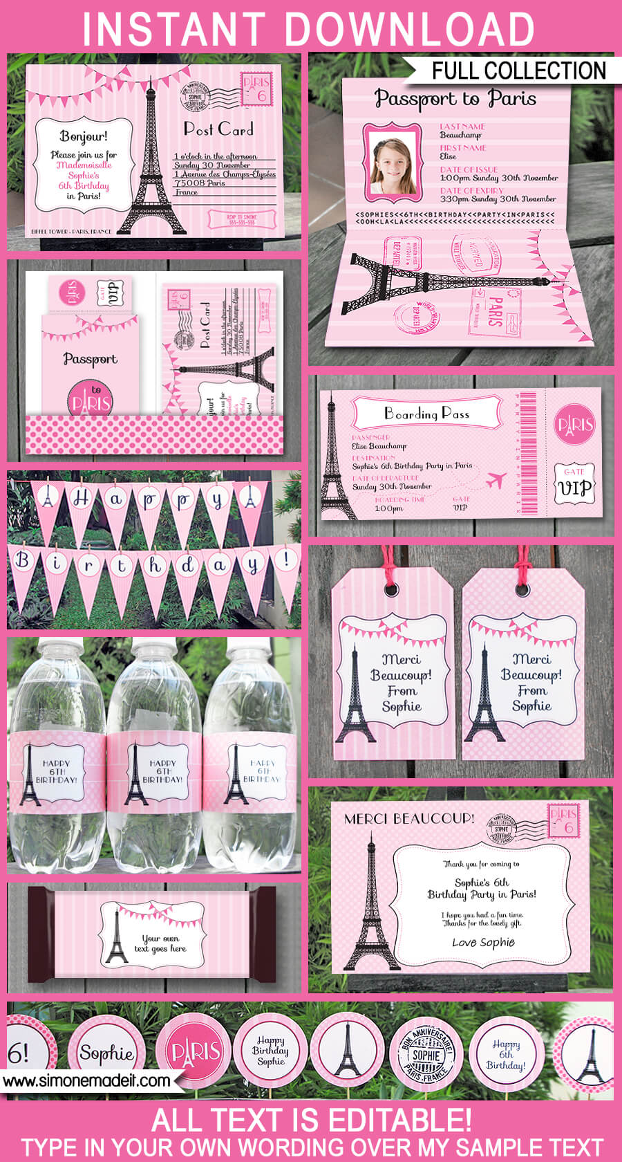 Impeccable image inside printable party decorations