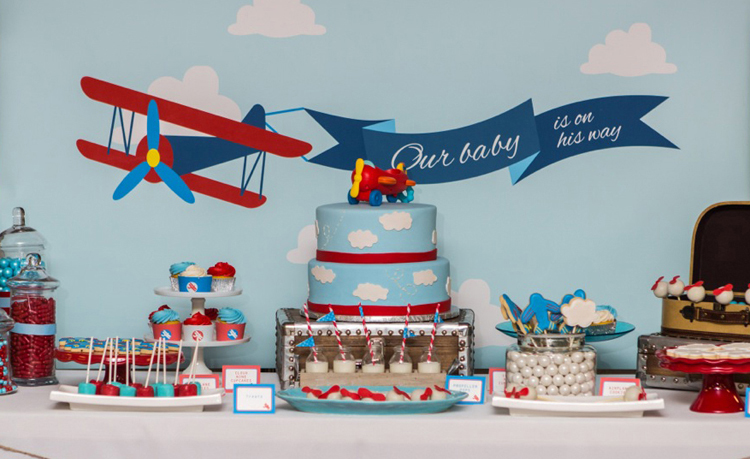 Airplane Baby Shower