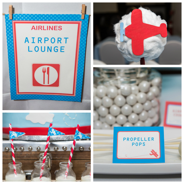 airplane baby shower airplane decorations