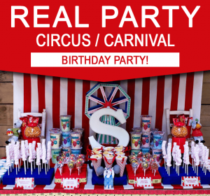 Carnival Circus Birthday Party Ideas