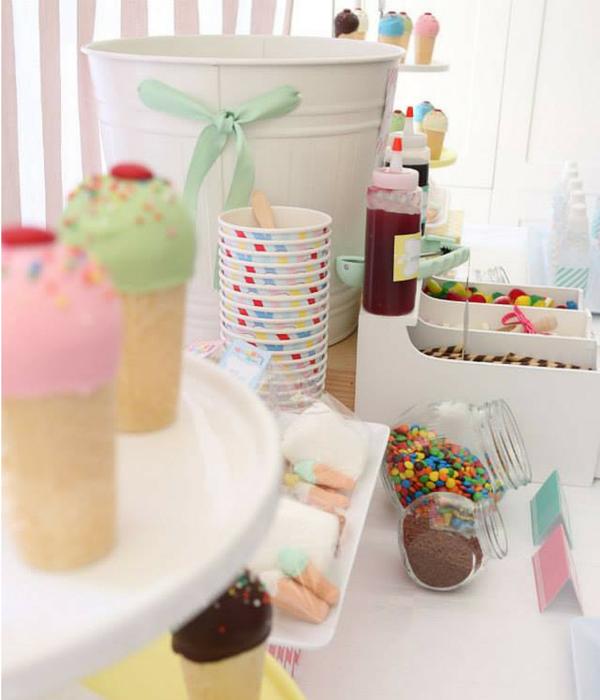 Ice Cream Birthday Party | SIMONEmadeit.com #icecream #icecreamparty