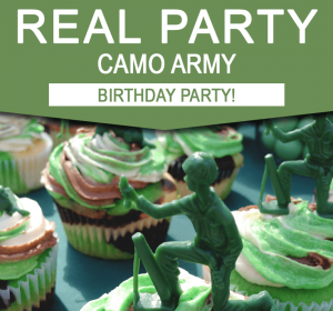 Camo Army Birthday Party Ideas