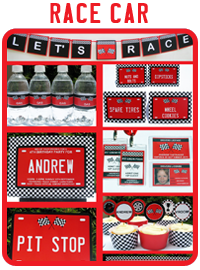Race Car Printable Collection