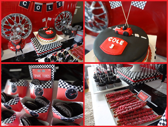 Real Party – Cole's Race Car Birthday Party