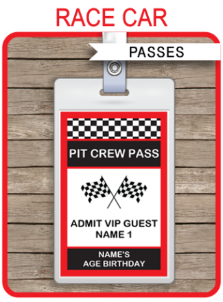 birthday party passes sports party all star passes backstage passes vip passes. Black Bedroom Furniture Sets. Home Design Ideas