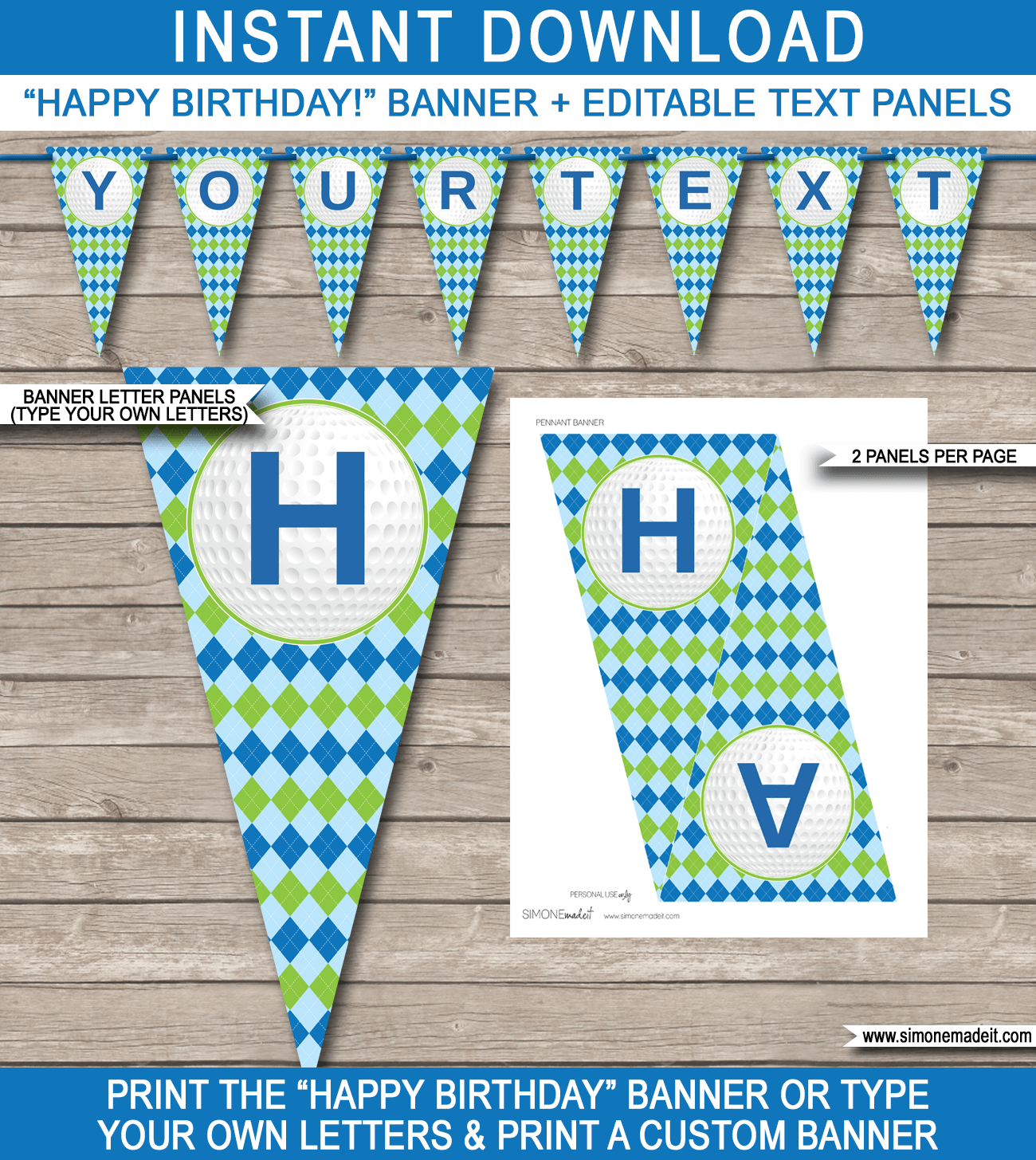Happy birthday banner template datariouruguay maxwellsz