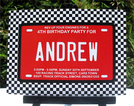 photo relating to Race Track Printable referred to as Race Motor vehicle Birthday Celebration Printables