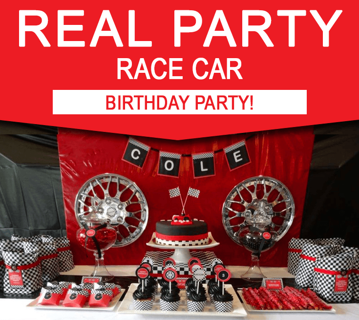 Race Car Birthday Party Theme Ideas