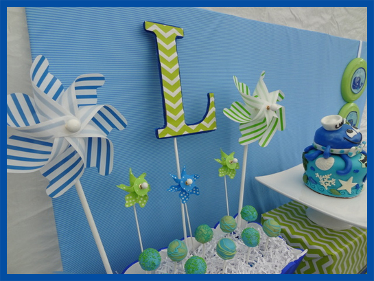 UNDER THE SEA Theme Birthday Party