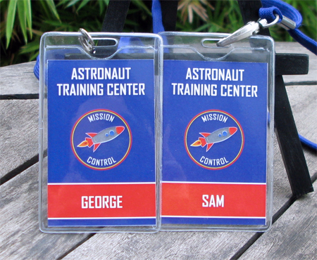 Astronaut Training Party Invitations | Space Party Decorations