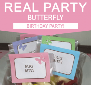 Butterfly Birthday Party Ideas - Real Party