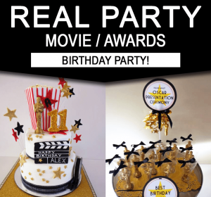 Movie Birthday Party Ideas - Real Party
