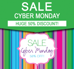 Sale - Cyber Monday - 50% off