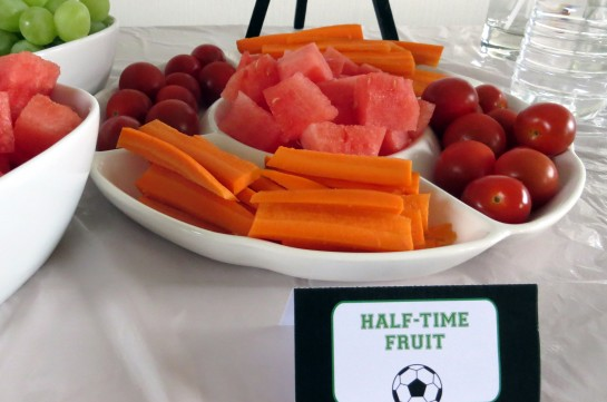Soccer party food