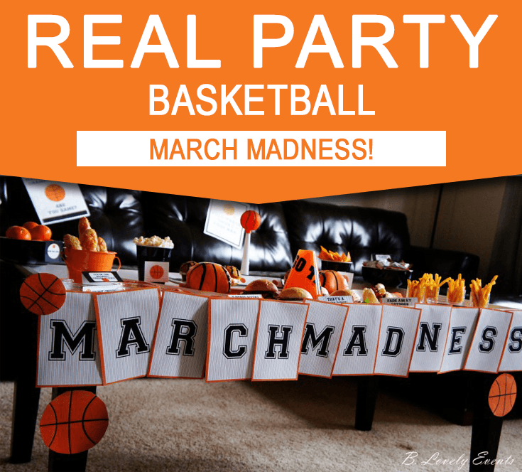 25 Best Ideas About Basketball Decorations On Pinterest: Basketball Party Ideas