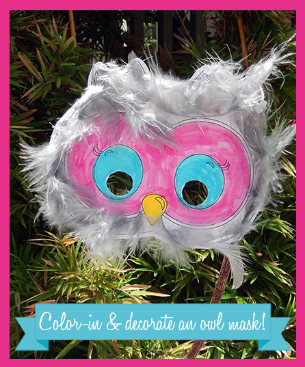 Owl Printable Collection Party Game