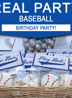 Baseball Party Ideas – Baseball Birthday Party