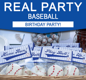 Baseball Birthday Party Ideas - Real Party