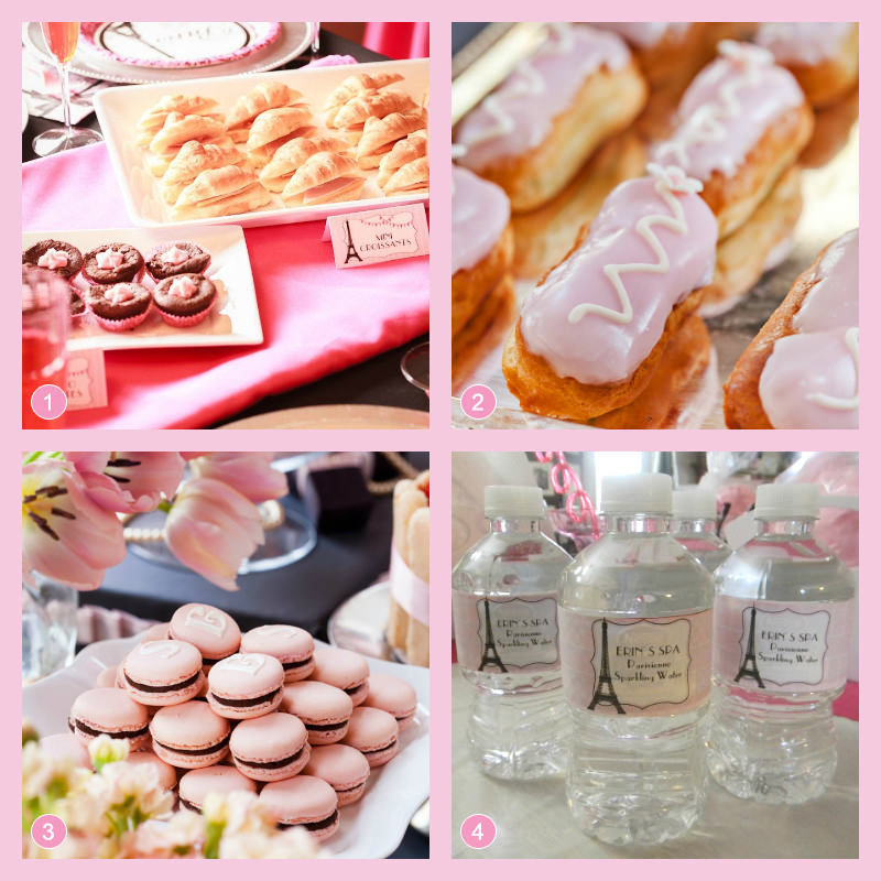 Paris Themed Party Food Ideas