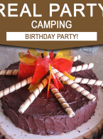 Sebastian's 5th Camping Birthday Party!
