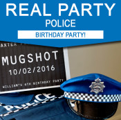 Police Birthday Party Ideas - Real Party