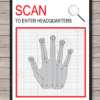 Low-tech Handprint Scanner